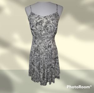 Old Navy Fit and Flair Floral Cami Dress M